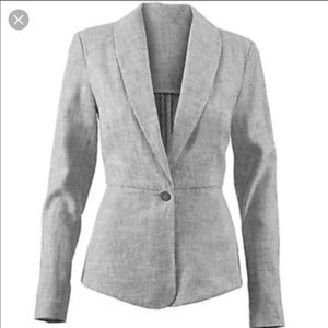 Cabi linen blend beachwalk blazer jacket